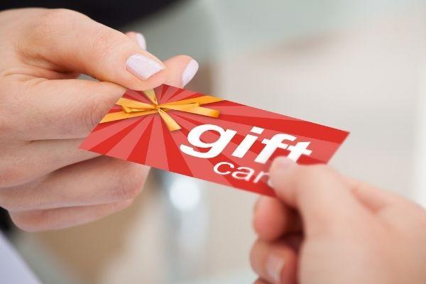 Premiação com Gift Cards