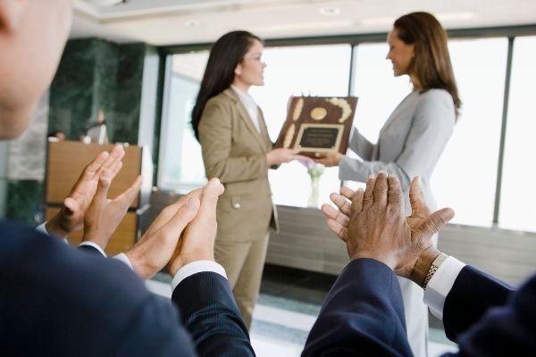 Prêmios para equipe de vendas